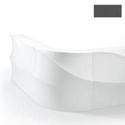 Elément d'angle Bar Baraonda, MyYour gris anthracite