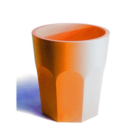 Pot design Cubalibre, Plust orange