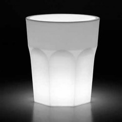 Pot design Cubalibre lumineux Outdoor, Plust