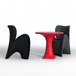 Chaise design Lily, MyYour noir