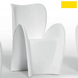Chaise design Lily, MyYour jaune