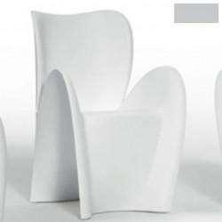 Chaise design Lily, MyYour gris acier