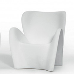 Fauteuil design Lily, MyYour blanc