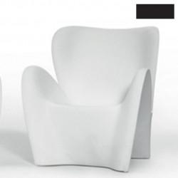 Fauteuil design Lily, MyYour noir