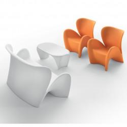 Fauteuil design Lily, MyYour orange