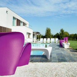 Fauteuil design Lily, MyYour lilas