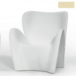 Fauteuil design Lily, MyYour ivoire