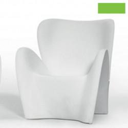 Fauteuil design Lily, MyYour vert