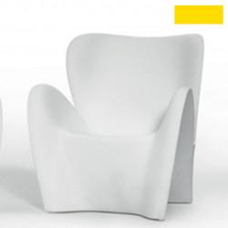 Fauteuil design Lily, MyYour jaune