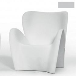 Fauteuil design Lily, MyYour gris acier