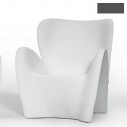 Fauteuil design Lily, MyYour gris anthracite