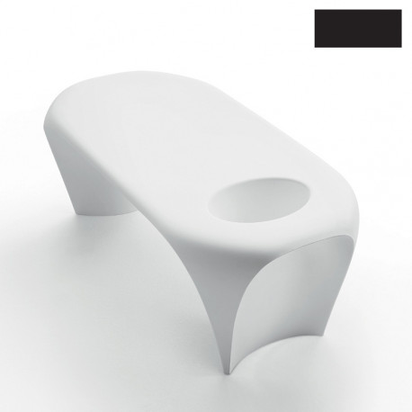Table basse design Lily avec bac à glace, MyYour noir
