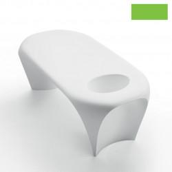 Table basse design Lily avec bac à glace, MyYour vert