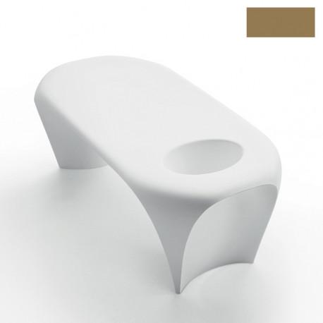 Table basse design Lily avec bac à glace, MyYour beige