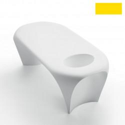 Table basse design Lily avec bac à glace, MyYour jaune