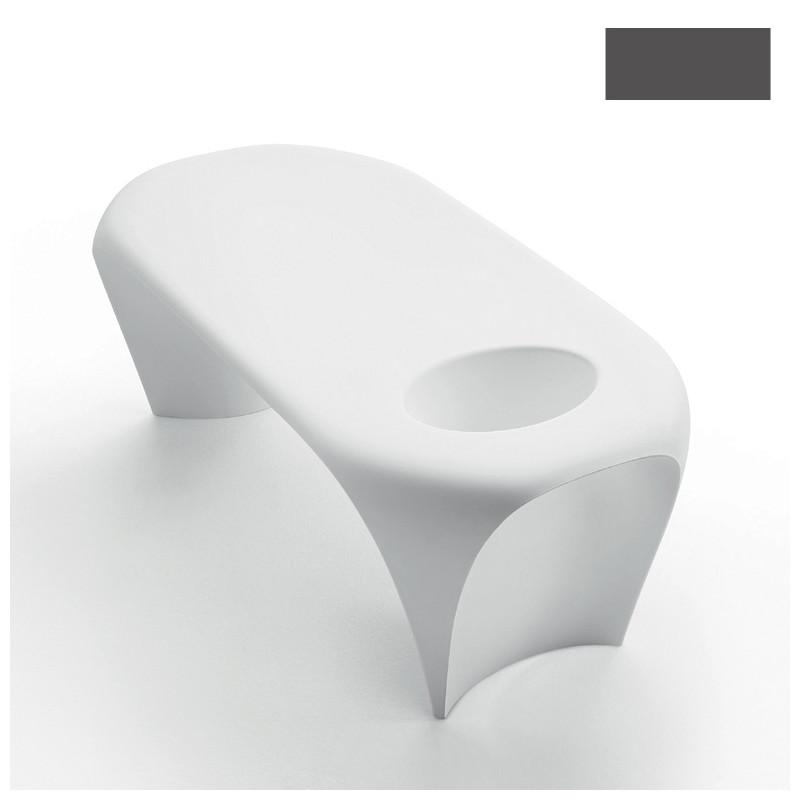 Table basse design lily avec bac glace myyour gris anthracite cerise sur la deco - Table basse gris anthracite ...