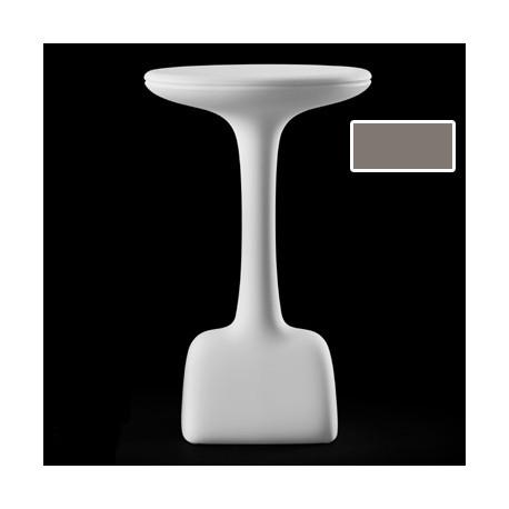 Table haute Armillaria Stool, Plust taupe