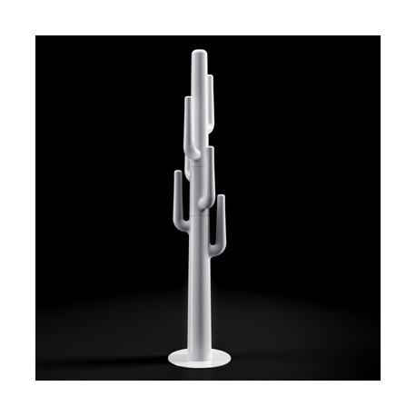 Porte-manteau cactus design Lapsus, Plust blanc