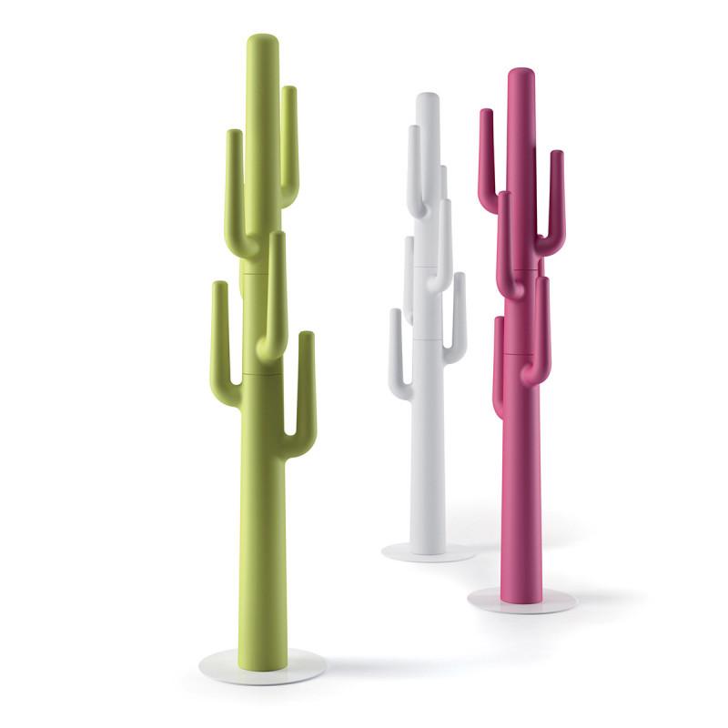 porte manteau cactus design lapsus plust blanc cerise sur la deco. Black Bedroom Furniture Sets. Home Design Ideas