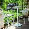 Tabouret de bar design Forest, Fast blanc