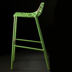 Tabouret de bar design Forest, Fast vert olive