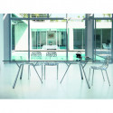 Radice Quadra, Fast aluminium poli table rectangulaire L150cm