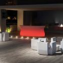 Elément droit Bar Bartolomeo, Plust blanc Lumineux LED RGB fil