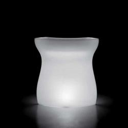 Elément d'angle Bar Bartolomeo, Plust blanc Lumineux à ampoule