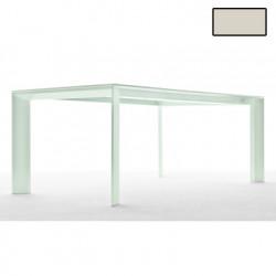 Table Grande Arche, Fast or perlé L220 cm