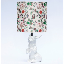 Lampe lapin Jeannot, Domestic blanc