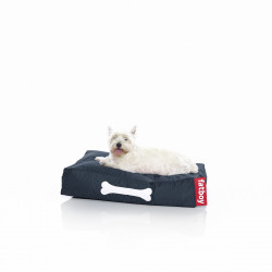 Pouf chien Doggielounge, Fatboy bleu Taille S