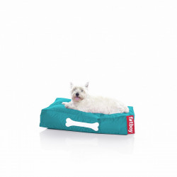 Pouf chien Doggielounge, Fatboy turquoise Taille S
