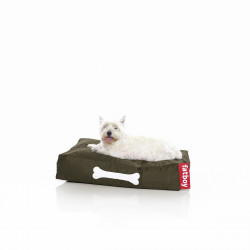 Pouf chien Doggielounge, Fatboy vert olive Taille S