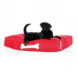 Pouf chien Doggielounge, Fatboy rouge Taille S