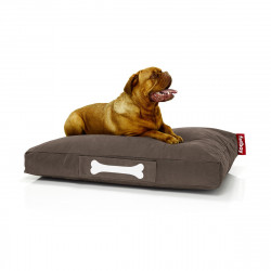Pouf chien Stonewashed , Fatboy marron Taille L