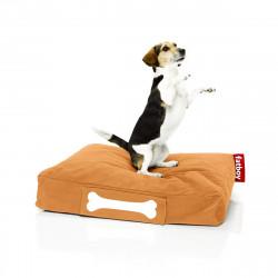Pouf chien Stonewashed , Fatboy orange Taille L