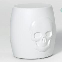 Tabouret design Skull, MyYour blanc