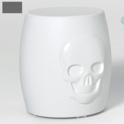 Tabouret design Skull, MyYour gris anthracite
