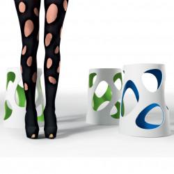 Tabouret design Liberty, MyYour vert, hauteur 45 cm