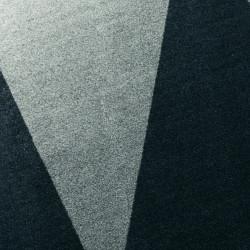 Tapis d'extérieur Overlap, Vondom noir