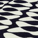 Tapis d'extérieur design You & Me, Vondom noir / blanc