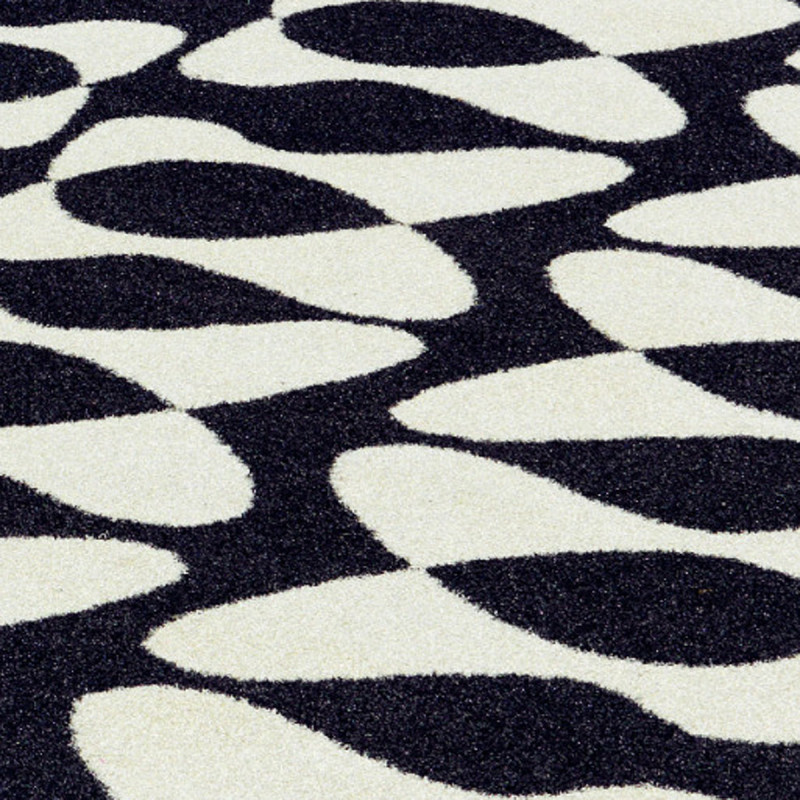 tapis d 39 ext rieur design you me vondom noir blanc cerise sur la deco. Black Bedroom Furniture Sets. Home Design Ideas