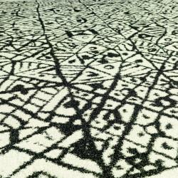 Tapis d'extérieur Azulejo, Vondom noir / blanc