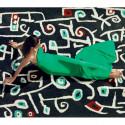 Tapis d'extérieur Las flores de Klee, Vondom noir