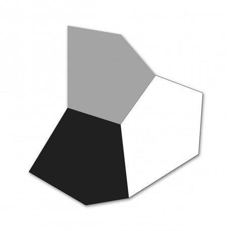 Tapis d'extérieur Faz, Vondom gris anthracite