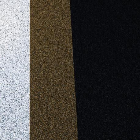 Tapis d'extérieur Lines XL, Vondom Noir/sable/blanc Taille S