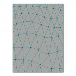 Tapis d'extérieur Koi, Vondom gris/ bleu vert
