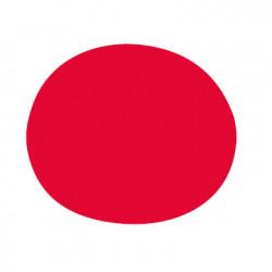 Tapis d\'extérieur Agatha, Vondom rouge Taille M, 130x110 cm