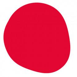 Tapis d\'extérieur Agatha, Vondom rouge Taille L, 200x190 cm