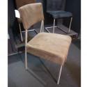 Lot de 2 chaises déco Todd, Hanjel taupe
